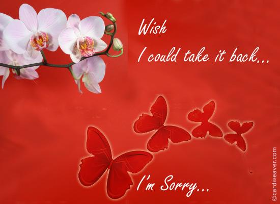 Felicitari de scuze