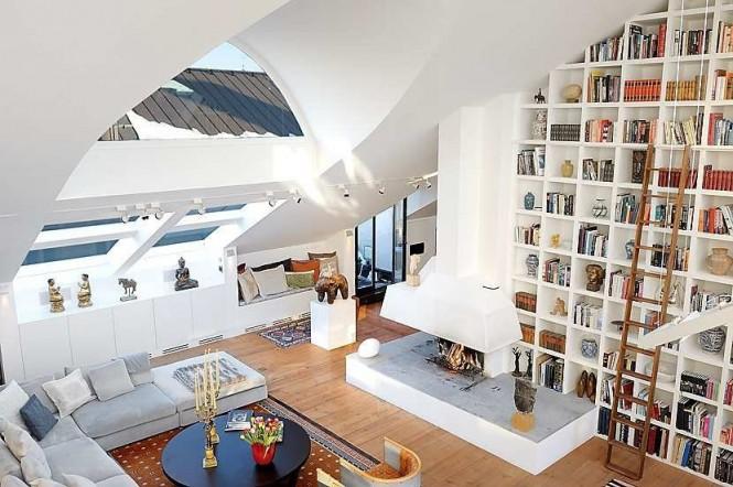 Decorarea unei camere cu tavanul inalt
