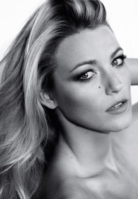 Blake Lively, pe coperta Marie Claire