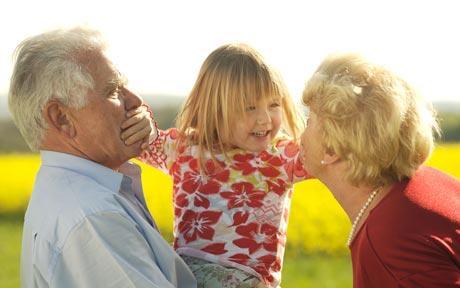Relatia copilului cu bunicii