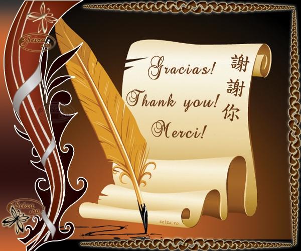 Felicitari de multumire