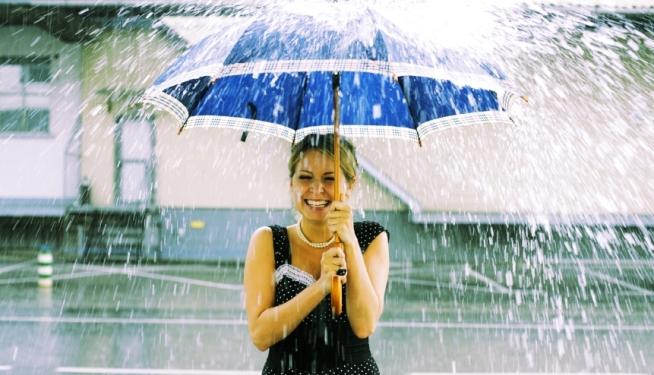 Machiajul pe timp de ploaie