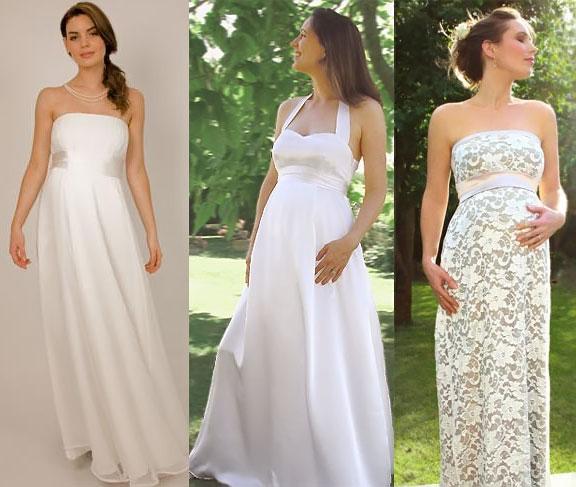 Cum sa-ti alegi rochia de mireasa daca esti gravida