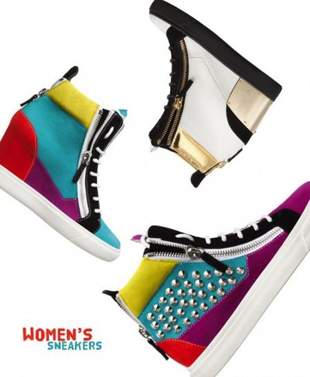 Colectia de pantofi Giuseppe Zanotti