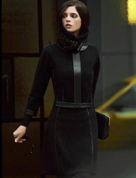Ashley Green, in campania de toamna DKNY