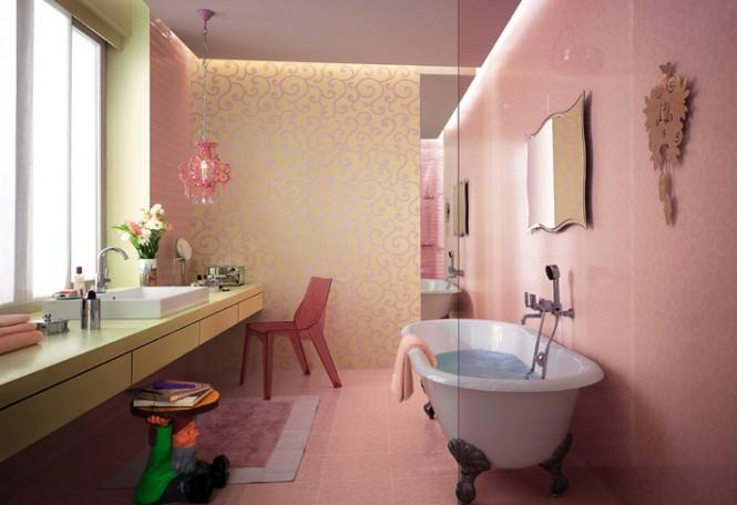 Un design de vis pentru baia ta