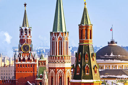 O escala la Kremlin