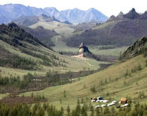 Mongolia, o alta lume
