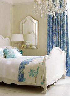 Alege albastru pentru dormitor