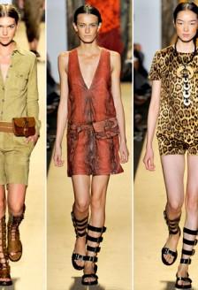 Animal print, idei pentru 2012