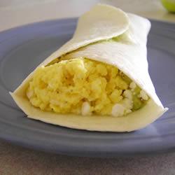 Burrito cu avocado