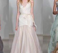 Colectia de rochii de mireasa Vera Wang, primavara 2012