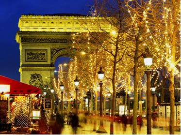 Craciun la Paris