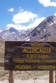 Expeditie in Aconcagua