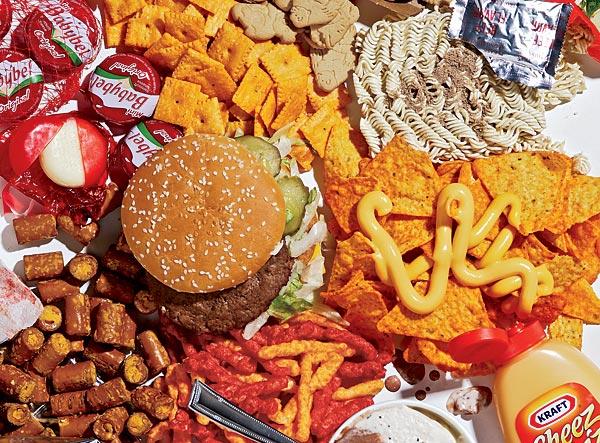 Junk food-ul si efectele nocive