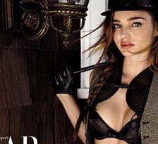 Mirranda Kerr, fabuloasa in Harper`s Bazaar