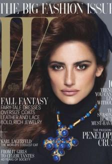 Penelope Cruz, sexy in W Magazine