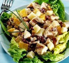 Salata de mango cu pui