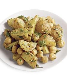 Salata orientala de cartofi si naut