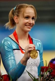 Sandra Izbasa, aur la sarituri