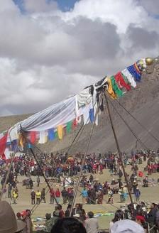 Tibet, festivalul Saga Dawa