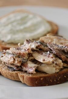 Turtite cu sardine